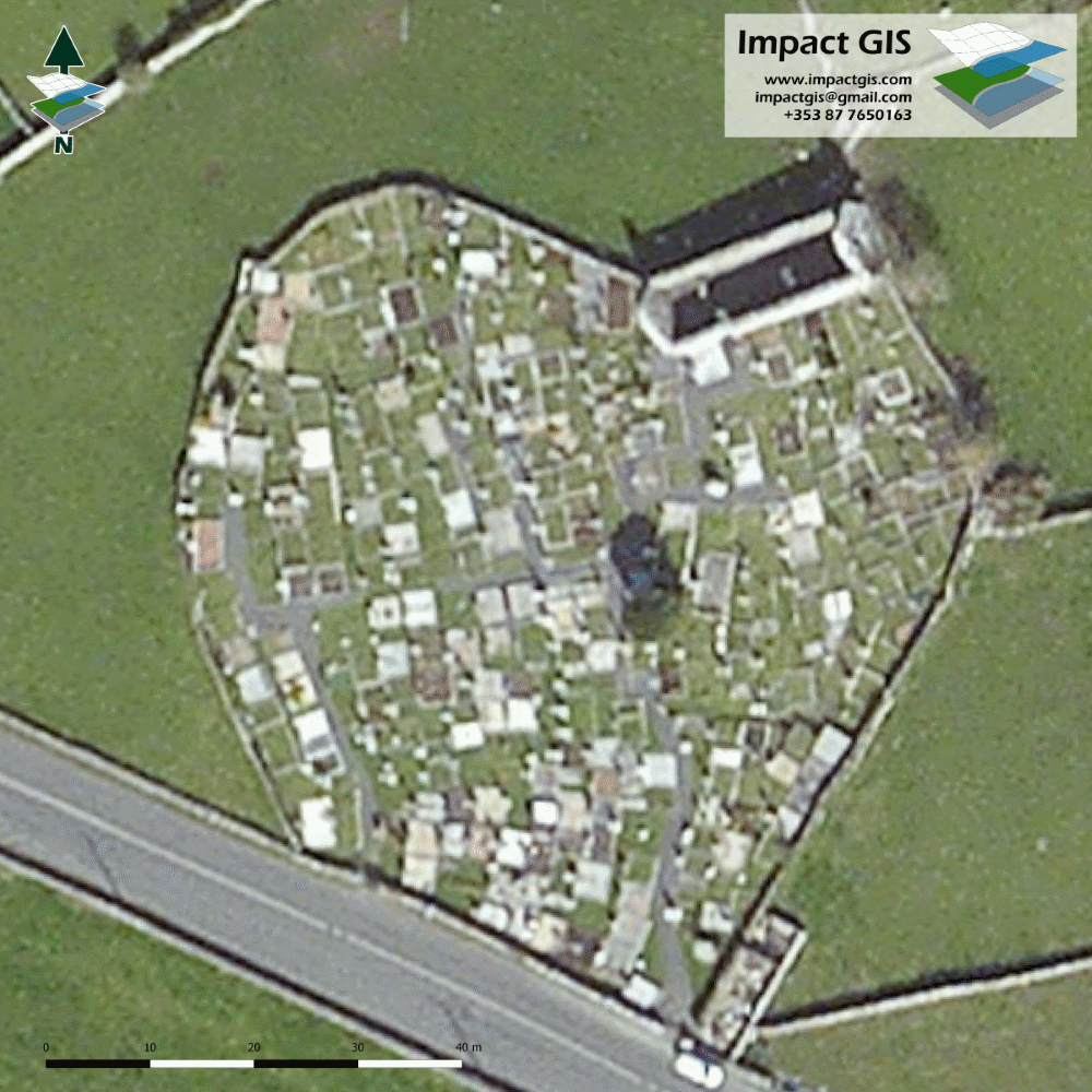 Bing aerial imagery of Killursa