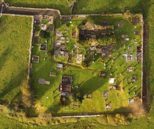 Orthophotography of Kilbeacanty OldGraveyard