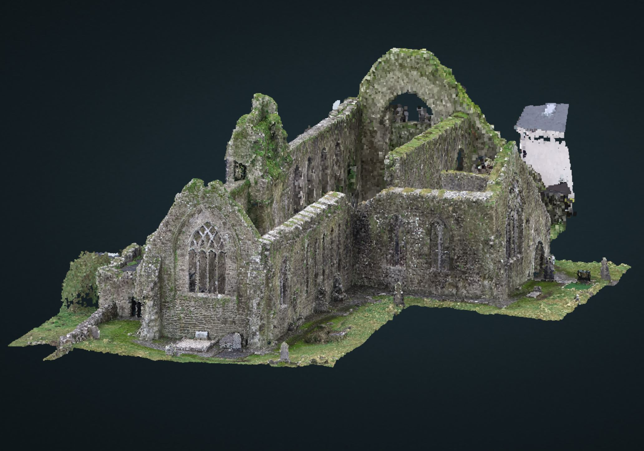 PointCould of Athenry Abbey
